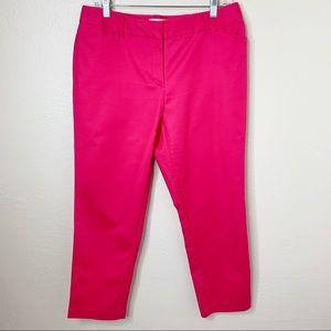 Liz Claiborne Hot Pink Capris Size 10